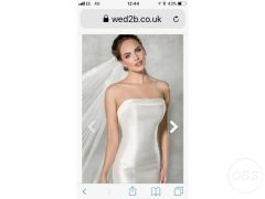 Cheap Wedding dress size 6 for Sale in the UK