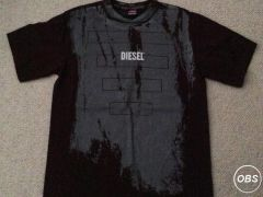 Diesel Designer Brown T Shirt for Sale at UK Free Classified Ads