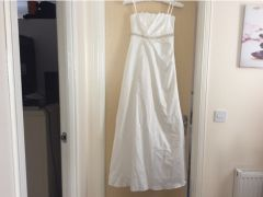 Ivory origami long wedding Dresses for Sale in the UK