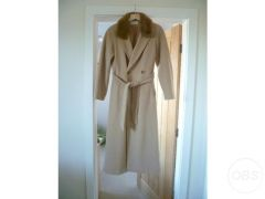 Ladies wool camel coat for Sale in the UK