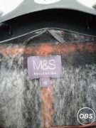 Marks and Spencer Ladies Coat for Sale at UK Free Classified Ads
