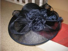 Monsoon Ladies Navy Hat for Sale in the UK
