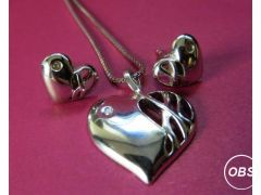 Silver Jewelry Set for Sale in the UK
