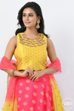 The most beautiful Designer lehenga online collection from Rangoli