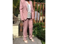 Trouser Suit Next Dusty Pink for Sale in the UK