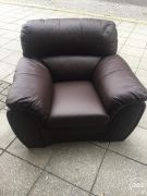 1 Sit Leather Armchair for Sale in the UK Free Ads £70