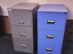 3 Drawer Foolscap Filing Cabinet Grey for Sale at UK Free Classified Ads