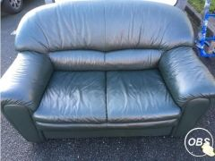 Cheap Leather 2 seater sofa for Sale in the UK