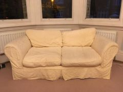 Cream Sofa Bed in Very Good Condition for Sale at UK Free Classified Ads