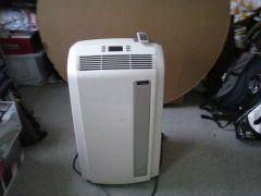 De Longhi Portable air conditionerdehumidifierfanheater with remote control