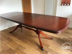 Dining Table Extendable Mahogany Dining Table for Sale in the UK