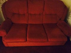 For Sale arm chair and 3 seater in UK
