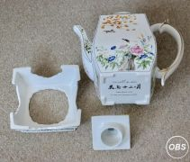 Franklin Mint Oriental Flowers Teapot and Stand for Sale at UK Free Classified Ads