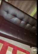Leather folding sofa bed for Sale at UK Free Classified Ads
