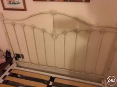 Metal Shabby Chic Double Bed for Sale at UK Free Classified Ads