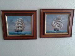 Pair of original oil paintings