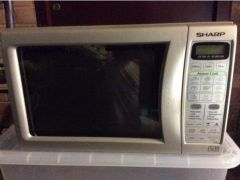 Sharp R252 M 800 watt microwave oven for Sale in the UK