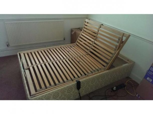 Sleepwell electric Small double bed frame for Sale in the UK