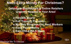 Require Christmas distributor in UK