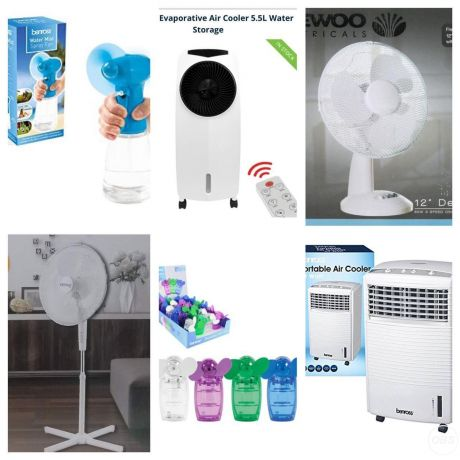 All type of Fans and coolers Available now