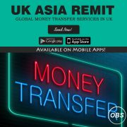 Always Best Money Transfer Services in UK with UK Asia Remitcom