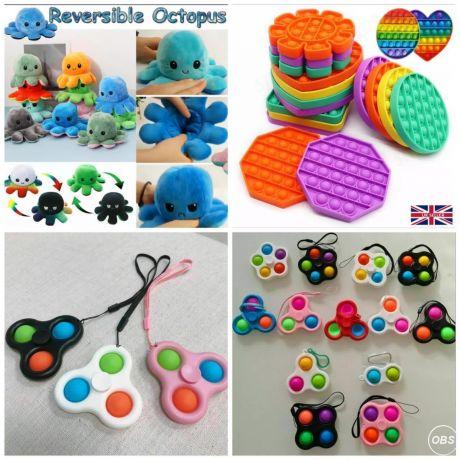 Fidget Pop Fidget PopSpinner Octupus and Many more sale in uk
