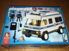 For Sale  Playmobil police van in UK