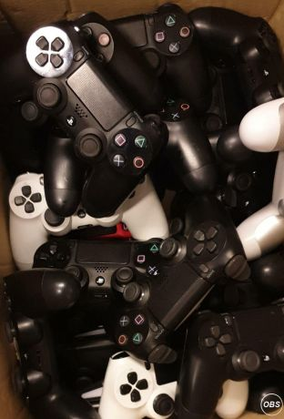 For Sale Ps4 controllers Genuine Used AB£30 Replacement new in box£17 in UK
