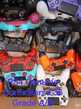 For Sale Ps4 Genuine Controllers Grade AB in UK Free Ads