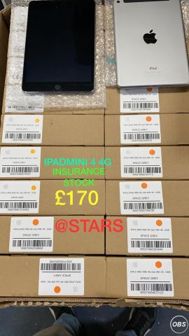 Ipad Mini 4 4G for Sale in UK Free Ads