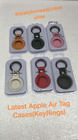 Latest Apple Air Tag Cases key rings for sale