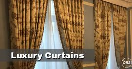 Luxury Curtains in London