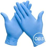 Nitrile Gloves (1 size only: small to medium)