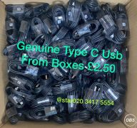 Sale Genuine Type C USB From Boxes in UK