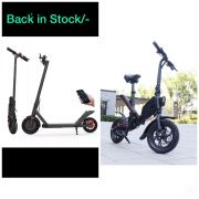 Sale Offer Price electric Scotter£260 electric Bicycle£450