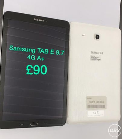 Samsung Tab E97 4G A For Sale in uK Free Ads