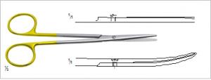TC Praeparierschere 145 mm TC Dissecting Scissors 5 ¾ inch for sale  in UK