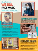 We got All Type Of Masks and Othrr PPE products in UK Free Ads