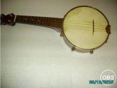 BANJO 4 string handmade mahogany for Sale in the UK