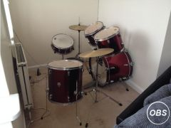 CB 5 piece drum kit for Sale in the UK