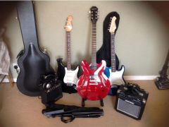 Cheap Several electric guitars for Sale in the UK