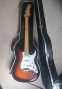 Fender stratocaster USA with hard case