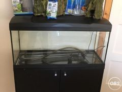 Excellent Marina 84 litre fish tank and cupboard under UK Free Ads