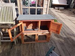 Rabbit Hutch and Run for Sale at UK Free Classified Ads
