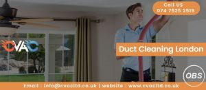 Professional Duct Cleaning London