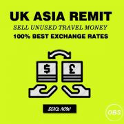 100 Best Exchange Rates Sell unused Travel Money in UK