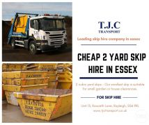 2 Yard Skip Hire in Essex