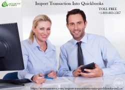 Account Cares  How Manually Import Transaction Into Quickbooks
