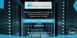 Advantages of Online Data Storage
