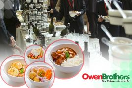 Afternoon tea catering  Owen brothers catering